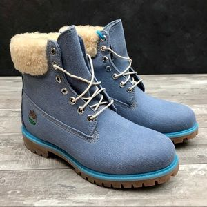 Timberland x Just Don Premium Denim Wool Boots